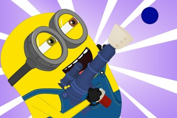 Minions Banana – Minions helium balloon funny cartoon